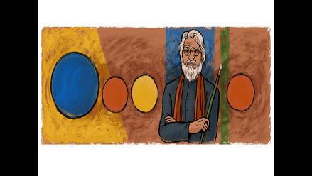 Google dedica doodle a Maqbool Husain, el 'Picasso' indio