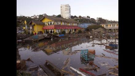 Presidente Ollanta Humala expresó solidaridad con Chile por terremoto
