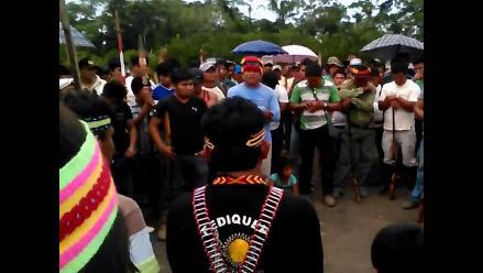 Loreto: comunidades indígenas rechazan diálogo en Iquitos con MEM