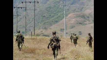 Operación militar en Colombia: mueren seis guerrilleros del ELN