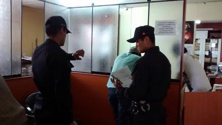 Huánuco: inspectoría interviene a dos policías en estado de ebriedad