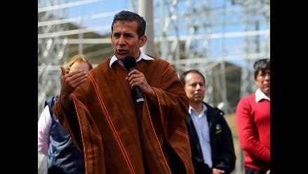 Humala: Estamos en un clima de libertad, pero no podemos manchar honras