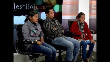 Familia de Emerson Fasabi pide cita con Ollanta Humala
