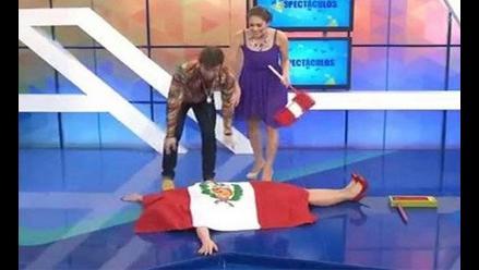 Antonio Pavón: Denuncian a Latina por polémica con la bandera peruana