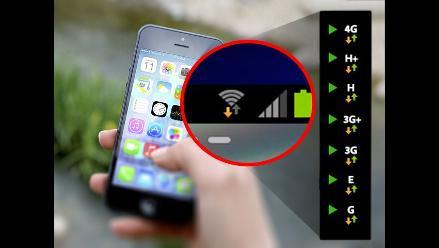 ¿Qué significan los símbolos E, H, H+, 3G y 4G de tu celular?