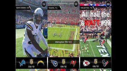 Snapchat mostrará contenido exclusivo de la NFL