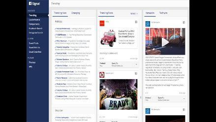 Signal, la nueva herramienta de Facebook diseñada para periodistas