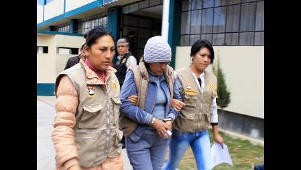 Huancayo: policía captura a requisitoriada por tráfico de drogas