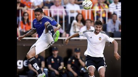 Real Betis con Juan Vargas sacó un punto en visita a Valencia