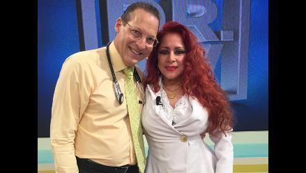 Monique Pardo se realizará examen al corazón en vivo