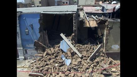 Dos casonas consideradas patrimonio cultural se derrumbaron en Trujillo