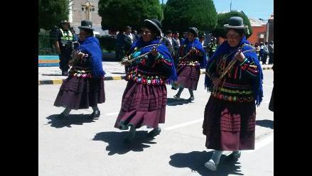 Puno: provincia de Huancané celebró 188 años de creación política