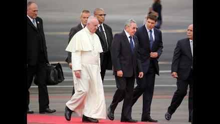 Francisco llegó a Cuba para dedicar atención a familias y jóvenes