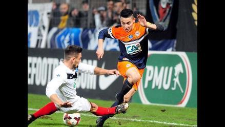 Montpellier, con Jean Deza en el banco, cayó 2-1 ante el Caen por la Ligue 1