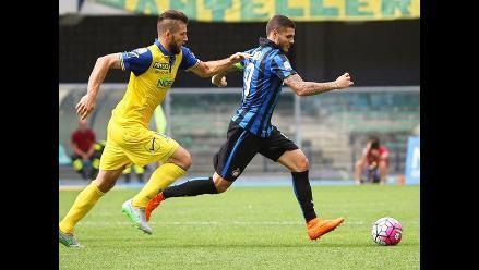 Inter de Milán ganó al Chievo Verona y se aferra a la punta de la Serie A