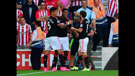 Manchester United: Anthony Martial brilló en el 3-2 ante Southampton