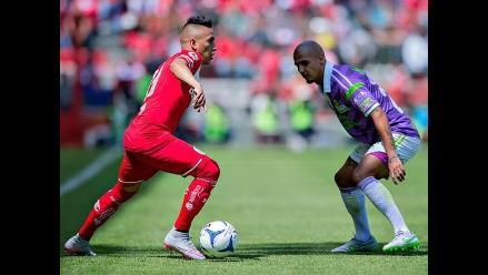 Toluca, con Christian Cueva, empató 1-1 con Chiapas por la Liga MX