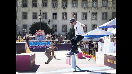 Peruano Angelo Caro obtuvo segundo lugar en torneo internacional de skate