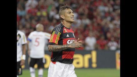Paolo Guerrero reapareció pero Flamengo fue goleado 4-1 por Atlético Mineiro