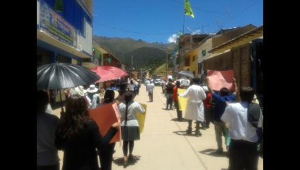 Apurímac: pobladores continúan con paro por obras de saneamiento
