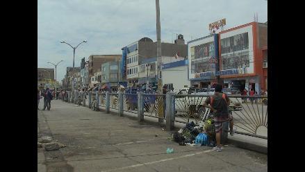 Chiclayo: declaran ilegal paro de trabajadores de limpieza pública
