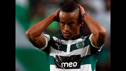 Sporting de Lisboa vuelve a descartar a André Carrillo para un partido