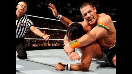WWE: John Cena venció a Seth Rollins y recuperó título de los Estados Unidos