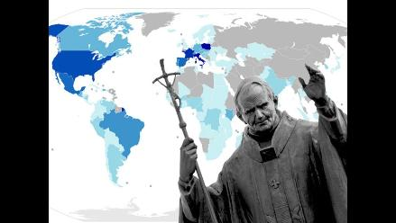Los papas y sus viajes alrededor del mundo