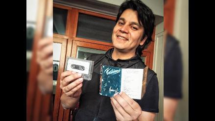 Lucho Quequezana fue sorprendido por fan en Arequipa