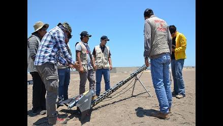 Avión no tripulado registrará topografía de áreas arqueológicas