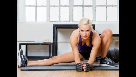 WWE: Lana mostró toda su sensualidad en el gimnasio