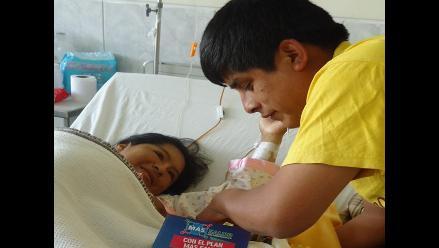 Arequipa: mujer con dos úteros trajo al mundo a un robusto bebé