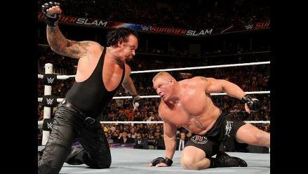 WWE: Brock Lesnar y The Undertaker pelearán en Hell in a Cell