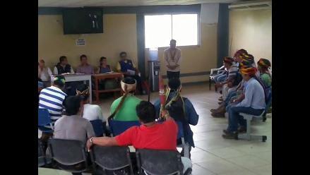 Loreto: diálogo con Ministro de Vivienda se realizará en base militar