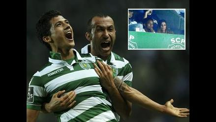 André Carrillo no jugó en victoria de Sporting de Lisboa 1-0 ante Nacional de Madeira