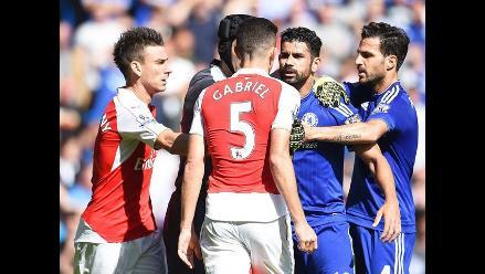 Fútbol inglés: Diego Costa recibiría sanción por actitud inapropiada