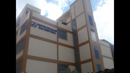 Huancavelica: obras de centro de salud San Cristóbal estaría abandonado