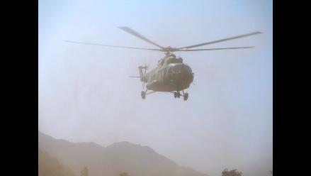 Cusco: reportan desaparición de helicóptero en La Convención
