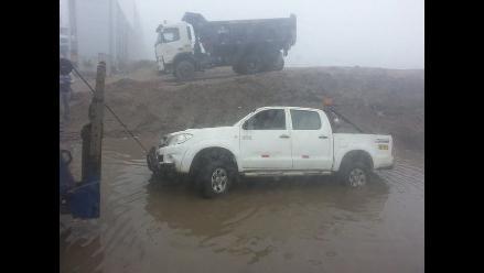 Junín: despiste y vuelco de camioneta deja siete heridos graves en Satipo