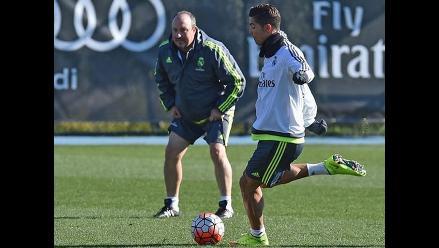 Rafa Benítez: Cristiano Ronaldo es el único indispensable en Real Madrid