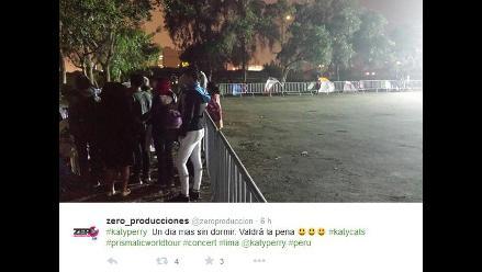 Katy Perry: Fans acampan en exteriores del Jockey Club del Perú