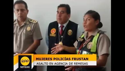 Trujillo: Jefe policial pide reconocimiento para valerosa suboficial