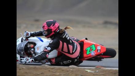 Superbike: Aída Martínez se fracturó la mano tras aparatosa caída