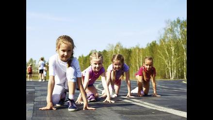 ¿Qué cuidados deben tener los niños que corren?