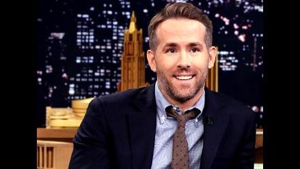 Ryan Reynolds contó cómo fue lidiar con la primera fiebre de su hija