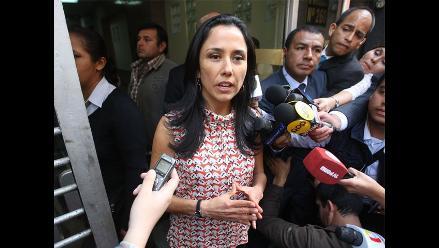 Nadine Heredia dijo a fiscalía que colaborará en investigación sobre agendas