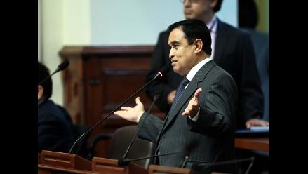 Otárola a favor de que voto de Ley de Partidos sea en próximo pleno