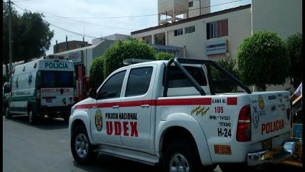 Confunden pirotécnico con granada de guerra en Trujillo