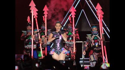 Katy Perry envolvió a Lima en un prisma de colores