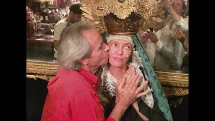 Uma Thurman y sus polémicas fotos vestida de Virgen María